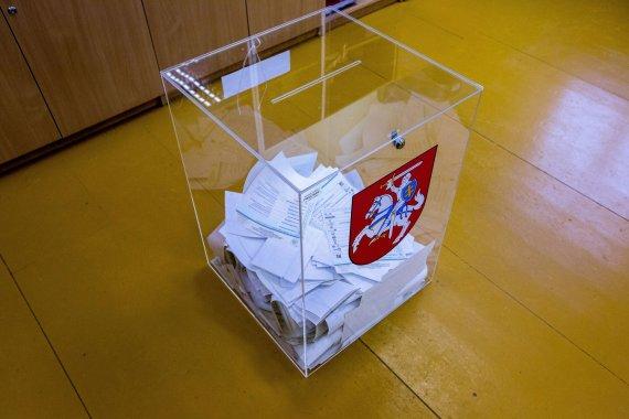 Vidmanto Balkūno / 15min nuotr./Rinkimai