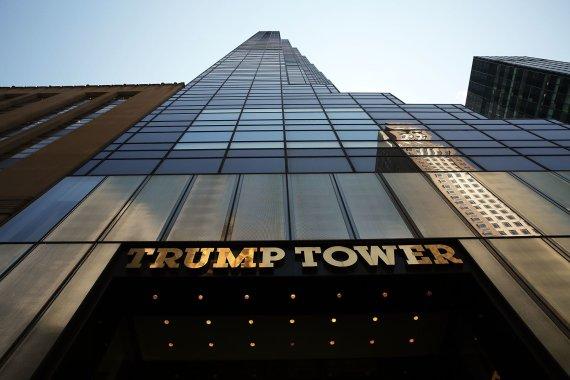 "AFP/""Scanpix"" nuotr./Trump Tower pastatas"