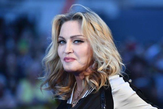 "AFP/""Scanpix"" nuotr./Dainininkė Madonna"