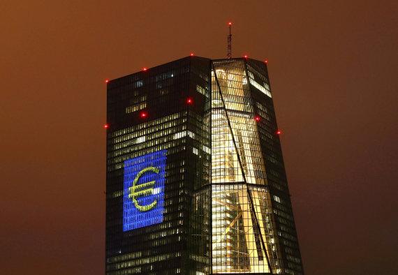 """Reuters""/""Scanpix"" nuotr./ECB Frankfurte"