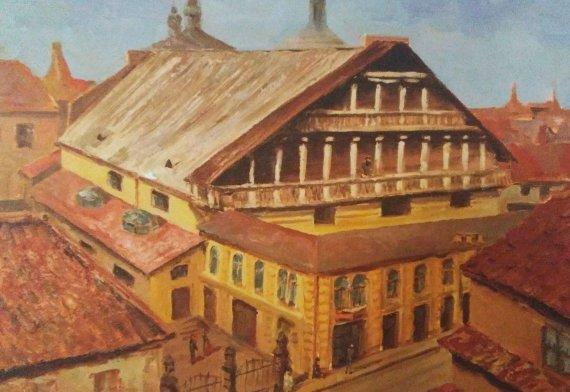 S.Liser. Vilniaus Didžioji sinagoga