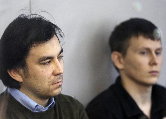 """Scanpix""/AP nuotr./J.Jerofejevas (kairėje) ir A.Aleksandrovas"