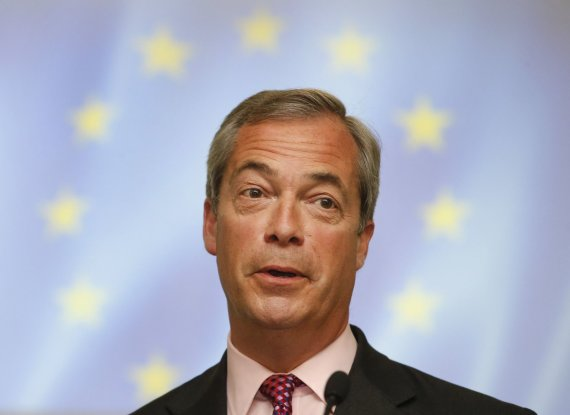 """Scanpix""/AP nuotr./Nigelas Farage'as"