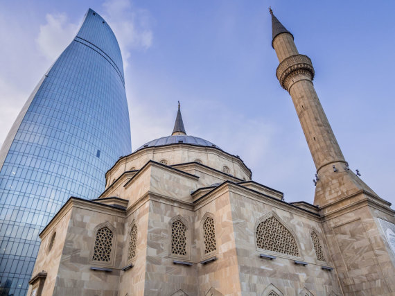 123rf.com nuotr. /Azerbaidžano sostinė Baku