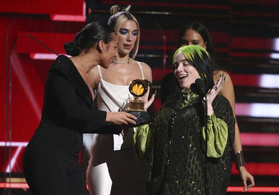 """""""Scanpix""""/AP nuotr./62-ųjų """"Grammy"""" apdovanojimų akimirkos"""