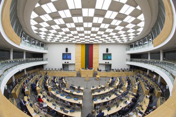 Roko Lukoševičiaus / 15min nuotr./Seimo plenarinis posėdis