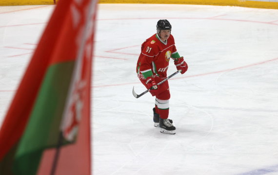 """Reuters""/""Scanpix"" nuotr./Aleskandras Lukašenka gali netekti pasaulio čempionato Baltarusijoje"