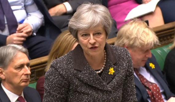 """""""Scanpix"""" nuotr./Theresa May"""