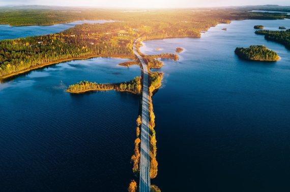 123rf.com nuotr./Spalvingas ruduo Suomijoje
