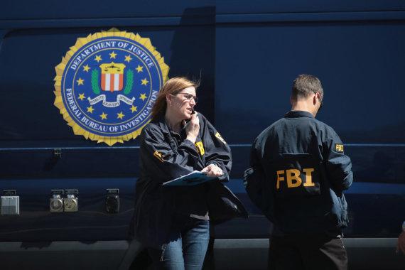 """AFP/""""Scanpix"""" nuotr./FTB agentai"""