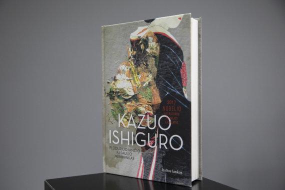"""Luko Balandžio / 15min nuotr./Kazuo Ishiguro knyga """"Plūduriuojančio pasaulio menininkas"""""""