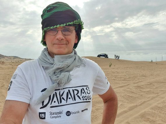 15min nuotr./Žilvinas Pekarskas Dakaro trasoje
