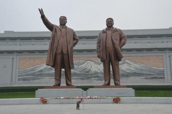 Dano Pankevičiaus nuotr./Šiaurės Korėja