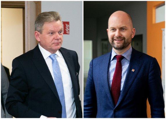 15min nuotr./Jaroslavas Narkevičius ir Vitalijus Andrejevas
