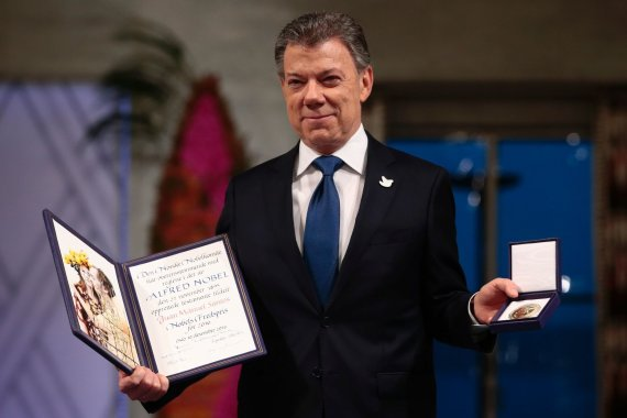 "AFP/""Scanpix"" nuotr./Juanas Manuelis Santosas"