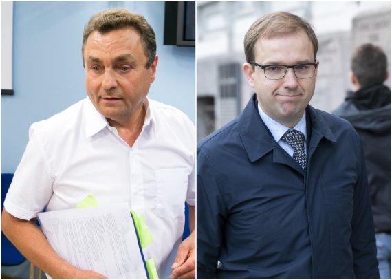 15min nuotr./Petras Gražulis ir Vytautas Gapšys
