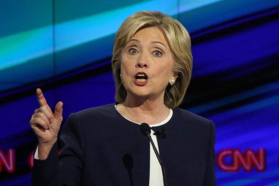 """AFP/""""Scanpix"""" nuotr./Demokratų partijos kandidatė į prezidentus Hillary Clinton"""