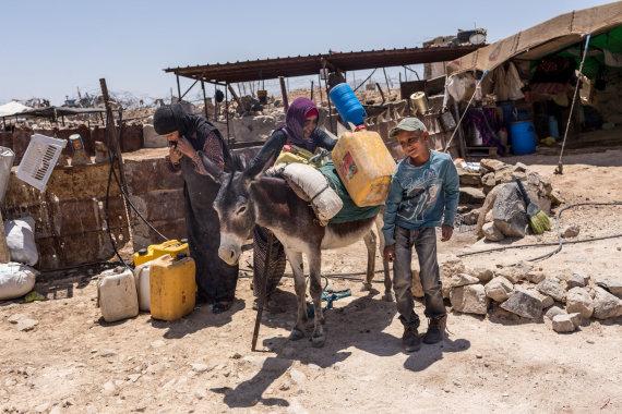 Artūro Morozovo nuotr./Vietos žmonių gyvenimas Palestinoje