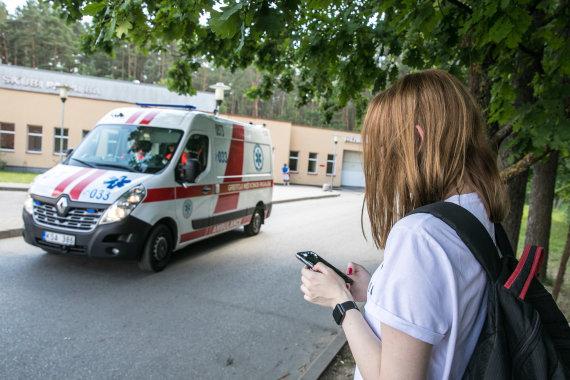 Juliaus Kalinsko / 15min nuotr./Vilniaus greitosios pagalbos universitetinės ligoninės Priėmimo skyrius