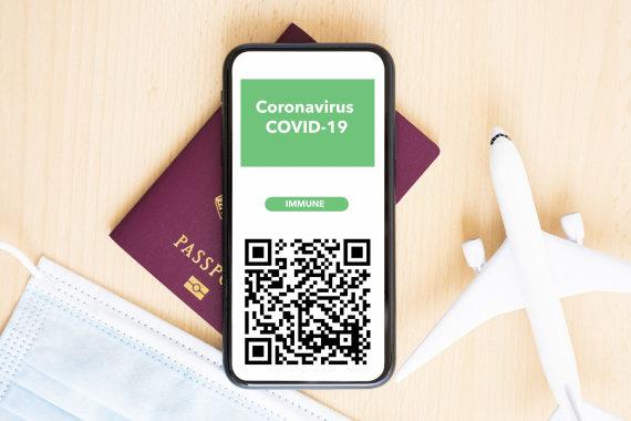 123rf.com nuotr./Skaitmeninis sveikatos pažymėjimas gali tapti išsigelbėjimu turizmo sektoriui