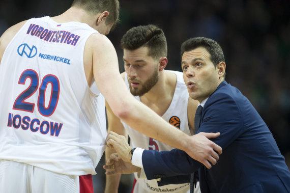 """Alfredo Pliadžio nuotr./""""Žalgiris"""" – CSKA"""