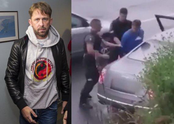 15min ir stop kadras/Egidijus Dragūnas vėl sulaikytas