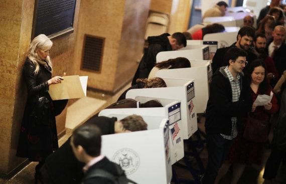 """""""Scanpix""""/AP nuotr./Rusijos programišiai aktyviai veikė per 2016 metų JAV prezidento rinkimus"""