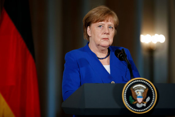 """Scanpix""/""Sipa USA"" nuotr./Angela Merkel"