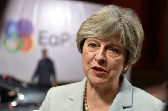 "AFP/""Scanpix"" nuotr./Theresa May"