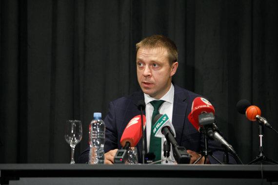 Eriko Ovčarenko / 15min nuotr./Pauliaus Motiejūno spaudos koferencija