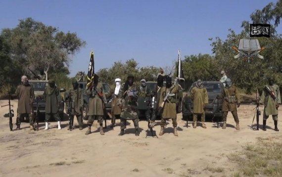 """""""Scanpix""""/AP nuotr./""""Boko Haram"""" teroristinės grupuotės kovotojai"""