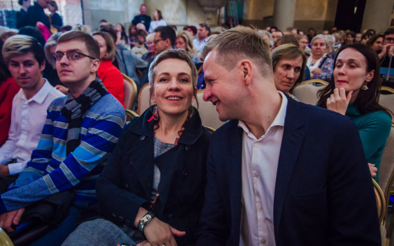Dainiaus Putino nuotr. /Kristupo festivalio atidarymo akimirka