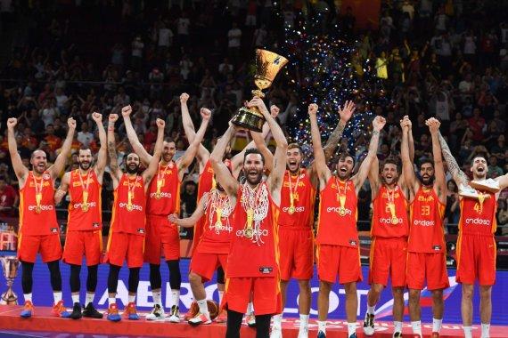 """""""Scanpix"""" nuotr./Ispanijos krepšinio rinktinė"""
