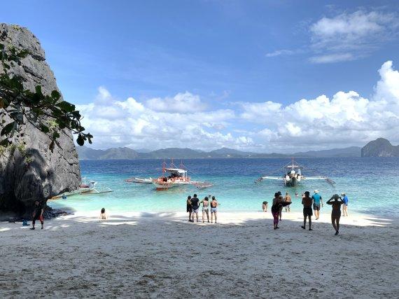 "Audros Kondrotės/ ""Travel Planet"" nuotr./Kelionės po Filipinus akimirka"
