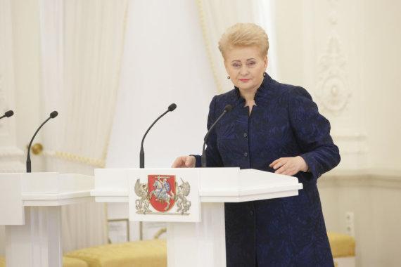 Vidmanto Balkūno / 15min nuotr./Dalia Grybauskaitė