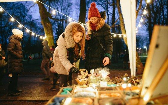 Organizatorių nuotr./Kalėdinė Sapiegų parko mugė