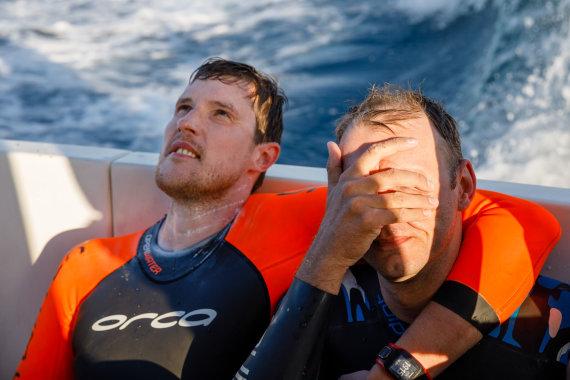 """Editos Grėbliunaitės (""""Orange Studio Photography"""") nuotr./Plaukimas per Gibraltaro sąsiaurį"""
