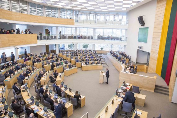 Irmanto Gelūno / 15min nuotr./Vyriausybės veiklos ataskaitos pristatymas