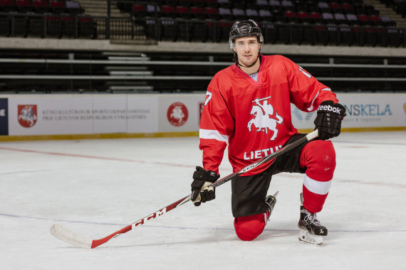 nuotr. hockey.lt/Tadas Kumeliauskas