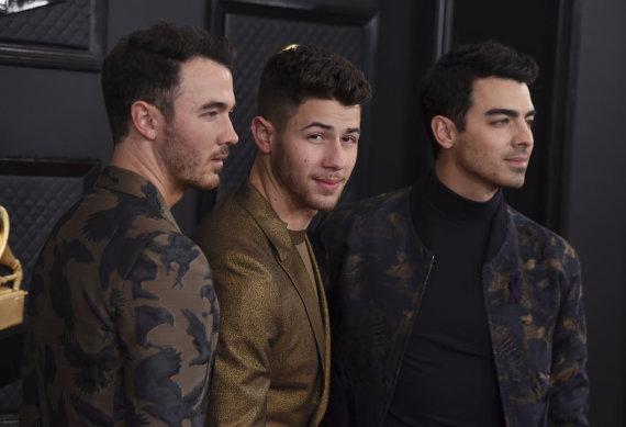 """""""Scanpix""""/AP nuotr./""""Jonas Brothers"""""""