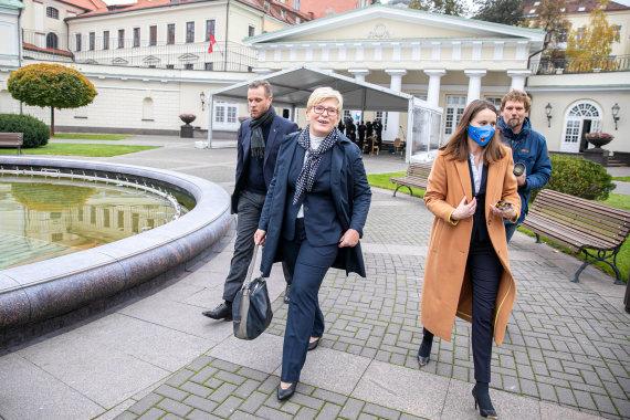 Juliaus Kalinsko / 15min nuotr./Ingrida Šimonytė ir Gabrielius Landsbergis