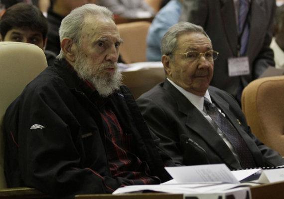 """Reuters""/""Scanpix"" nuotr./Fidelis ir Raulis Castro"