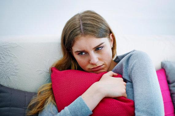 Vida Press nuotr./Liūdna moteris