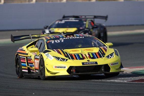 Petr Fryba nuotr./Lamborghini Huracan Super Trofeo