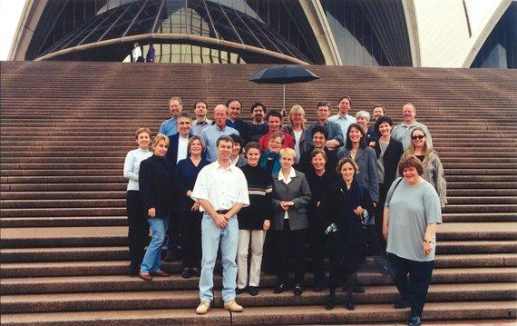 LMIC nuotr./Tarptautinės muzikos informacijos centrų asociacijos susitikimas Sidnėjuje 1999 m.