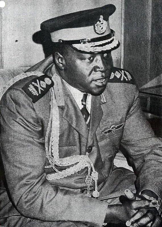 Wikipedia.org nuotr./Idi Aminas 1973 m.