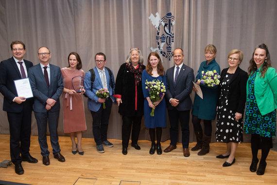 tvnet.lv nuotr./Peterio Greste apdovanojimų įteikimo ceremonija
