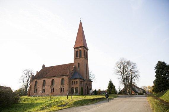 Vytenio Radžiūno/LRT.lt nuotr./Vilkyškių evangelikų liuteronų bažnyčia