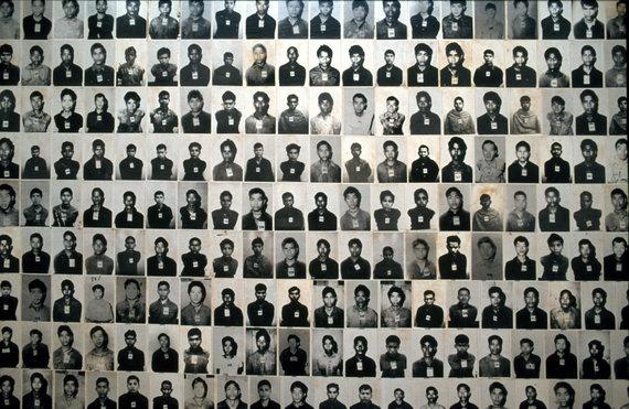 """""""Scanpix""""/AP nuotr./Raudonųjų khmerų aukų nuotraukos"""