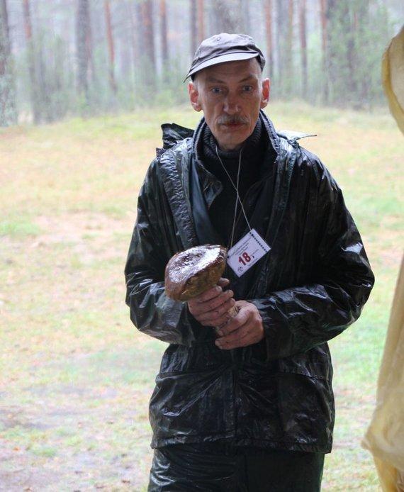 Rūtos Averkienės nuotr./Surastas didžiausias baravykas